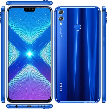 HONOR 8X DS 64GB CRVENI